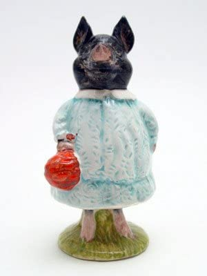 ROYAL DOULTON Beatrix Potter Pig Wig Beswick