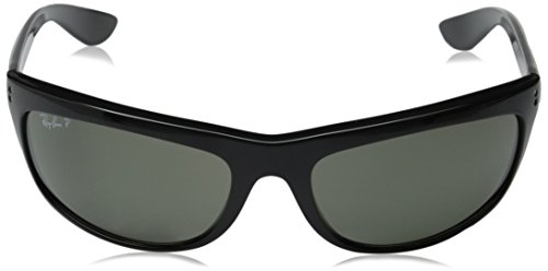 8c71bee8ab Amazon.com  Ray-Ban Men s Balorama Polarized Oval Sunglasses
