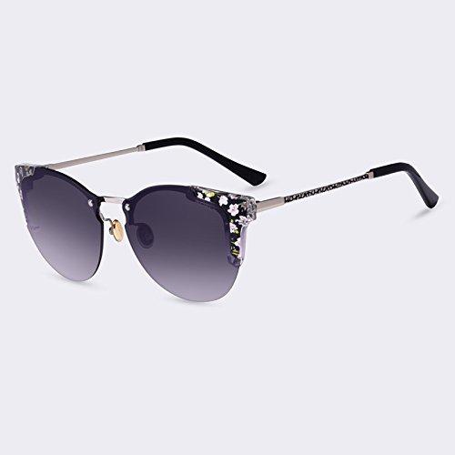 Gray gafas espejo de de Moda Gafas Gato femme Gafas de sol C05Gradient C05gris de lunettes lujo sol degradado de de mujeres TIANLIANG04 soleil gafas de Ojo Afq74ww