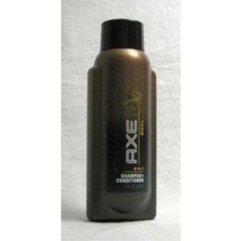 Axe Dual 2 In 1 Shampoo + Conditioner, Travel Size, 1.7-Ounce Bottle