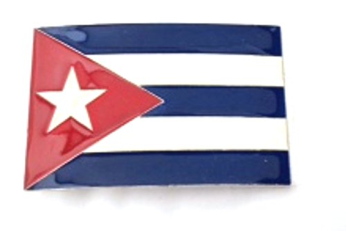 Cuba Cubans Cubanos Flag Country Nation Belt Buckle Collectible Gift Costume -