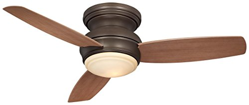 Minka-Aire F593L-ORB, Traditional Concept LED Bronze Flush Mount 44
