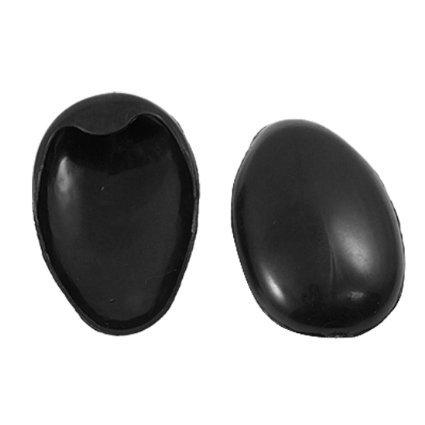 Pair-Barber-Black-Plastic-Hair-Dye-Ear-Cover-Protector