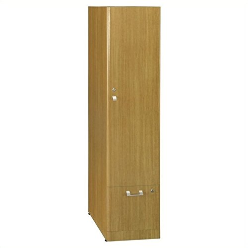 Quantum Modern Cherry Collection - Bush Business Quantum Storage Tower (Tall) in Modern Cherry
