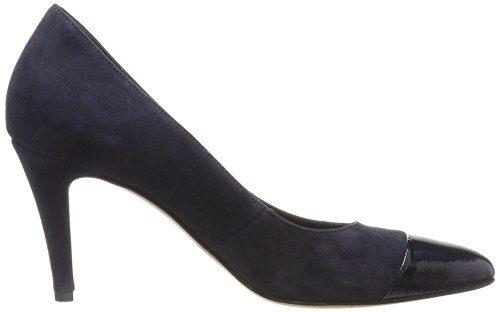 Tamaris Damen 22442 Pumps Blau (Navy/Patent)