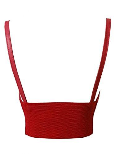 dcdf163400 Alivila.Y Fashion Faux Leather Steampunk Sexy Underbust Waist Belt ...