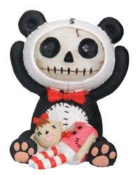 (SUMMIT COLLECTION Furrybones Pandie Signature Skeleton in Innocent Panda Bear Costume with Beheaded)
