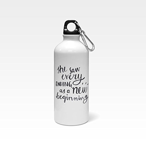 Water Bottle Quotes Buy Madanyu Water Sipper Sports Bottle for Girls   Quotes Printed  Water Bottle Quotes