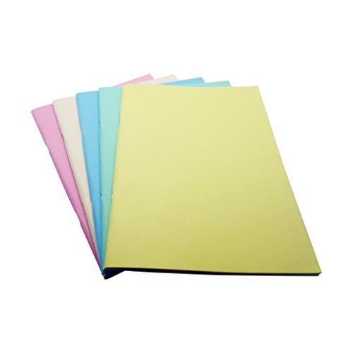 West Design RS901716 A3 Matt Stapled Sketchbook - Assorted Pastel Colours (140gsm Matt)