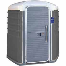 PolyJohn SA1-1005, We'll Care ADA Compliant Portable Restroom, Pewter
