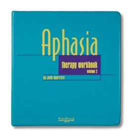 AliMed Aphasia Therapy Workbook, Vol. 2 by AliMed (Image #1)