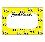 Samantha Barnes Honey Bee Homemade Labels (Pack of 18)
