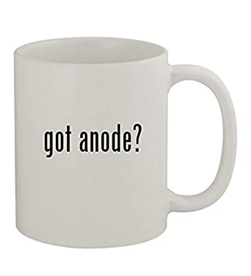 got anode? - 11oz Sturdy Ceramic Coffee Cup Mug, White