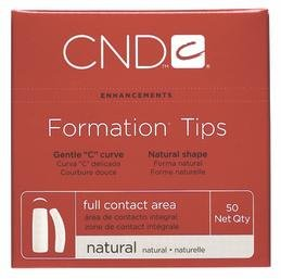 Creative Nail Tips Formation Natural False Nails, No.10 (Formation Tips)