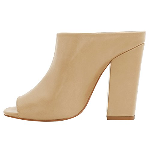 Zapatos de punta abierta formales Allegra K para mujer z7e1LgO3