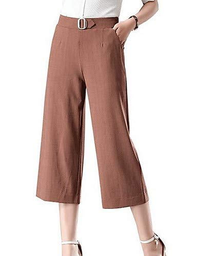da White larghi Pantaloni YFLTZ unita Active Tinta donna qvWwt060aS
