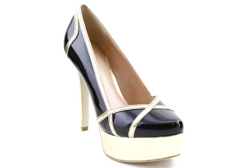 Society À Sole Talons patent Chaussures Black With Gold Zoey Femmes qIgSxwndS