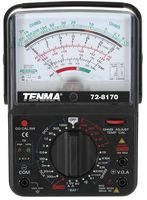 Tenma 72-8170 Multimeter, Analog, 6 Functions