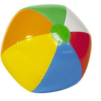 Inflatable Beach Ball Rainbow 6 panel