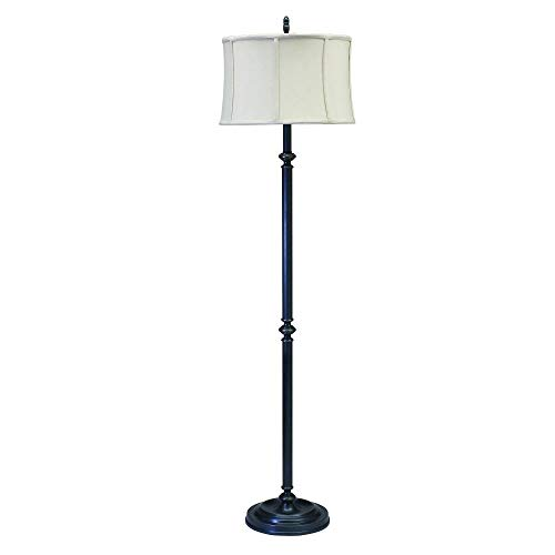House of Troy CH800-OB Coach Collection 61-Inch Floor Lamp, Oil Rubbed Bronze - House Of Troy Traditional Floor Lamp