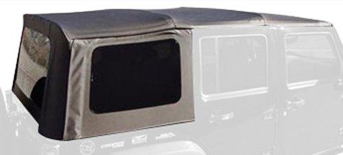 Rampage Products 98935 Soft Top, OEM Replacement, 1999-2002 Suzuki Vitara/Geo Tracker, Black Diamond w/Tinted Windows