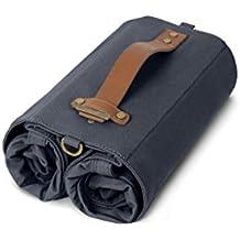Linus Bike Market Roll-Up Pannier Bag - Navy