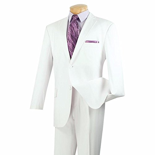 Executive 2 Pieces Collection Classic Fit Suit 2 Buttons (Mens Executive Collection)