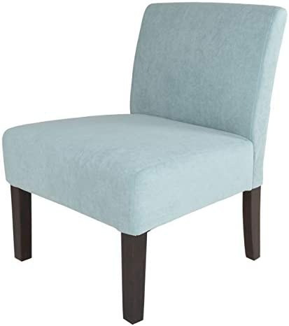 Zenvida Modern Armless Accent Slipper Chair