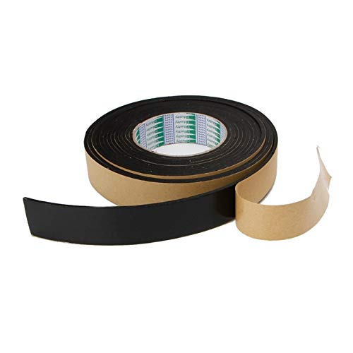 Ants-Store - EVA Foam Tape Noise Prevention Single Sided Adhesive Waterproof Weather Stripping Door Seal Tapes