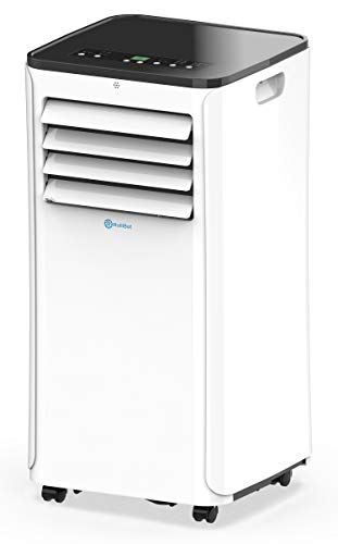 - Alexa-Enabled RolliCool COOL208 Portable Air Conditioner 10000 BTU AC Unit with Heater, Dehumidifier, and Fan with Mobile App
