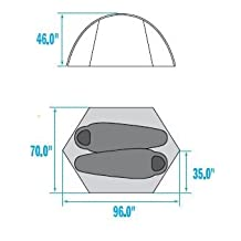 The North Face Eclipse Tent: 2-Person 3-Season