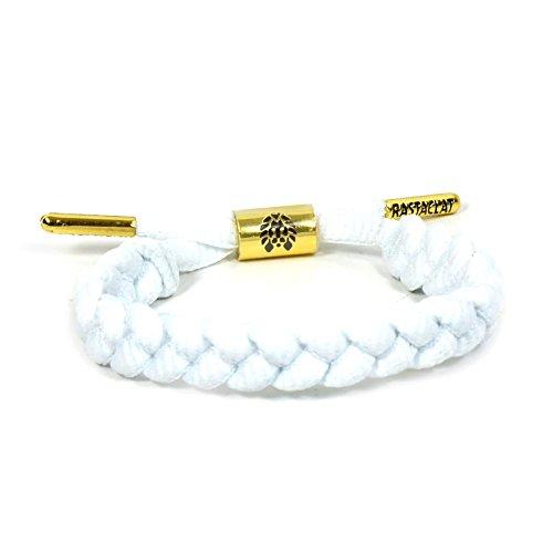 Rastaclat Zion II White Shoelace Bracelet