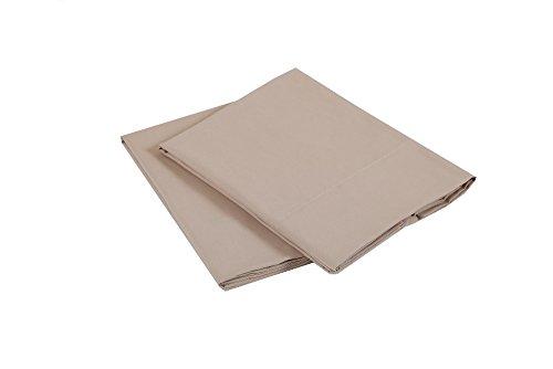 Affluence Luxury Microfiber Pillowcase Set (Standard/Queen Pillowcase Set, Desert Grain)