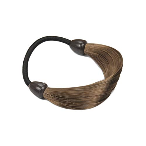 MOPOLIS Stylish Women Straight Wig Hairband Ponytail Holder Elastic Hair Tie Band Rope | Color - Coffee ()