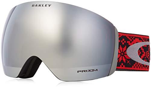 (Oakley Flight Deck Snow Goggle, Shredbot Red Black, Large)