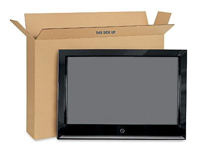 Flat Screen TV Moving Box - Sizes: From 60' To 70' TVs