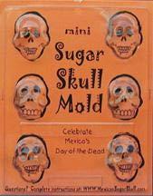 Sugar Skull Mold - Oaxaca Mini Skull ()