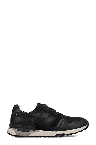 CRIME London Herren 11408KS120 Schwarz Leder Sneakers