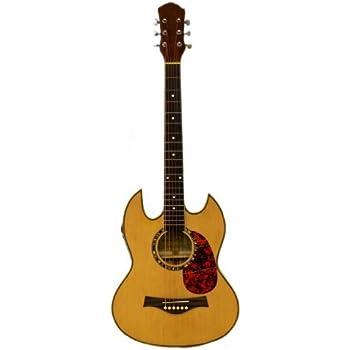 dean guitars exfm fd acoustic electric guitar faded denim musical instruments. Black Bedroom Furniture Sets. Home Design Ideas