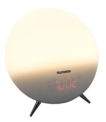 Telefunken R1006L Lichtwecker (PLL-Tuner, UKW-Radio, Dual Alarm, Aux-In, Wake-Up-Light)