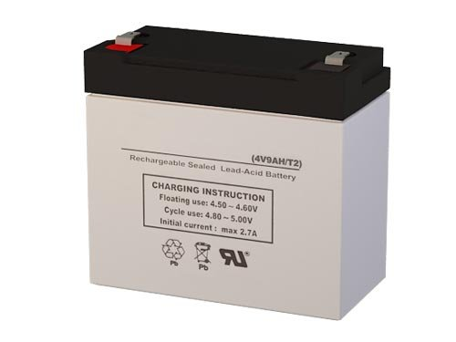 PS-490 4 Volt 9 AmpH SLA Replacement Battery with ...