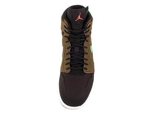 Nike Air Jordan 1 Retro High Nouv, Zapatillas de Deporte para Hombre Verde / Naranja / Negro / Blanco (Mlt Green / Hypr Orng-Blk-White)
