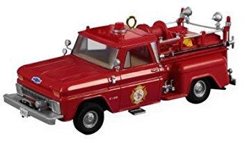 2009 Hallmark 1965 Chevrolet Fire Engine #7 in Fire Brigade Series