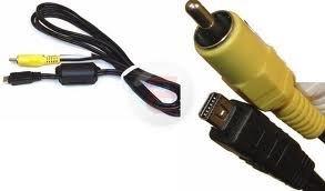 (MPF replacement CB-AVC5 CBAVC5 CB-VC5 AV Audio/Video RCA Cable Cord for Olympus U600, U700, U710, U720, U730, U740, U750, U760, U770, U780, U790, U800, U810, U820, U830, U840, U850, U1000, U1030, X-940, X-960 & XZ-1 Digital Cameras)