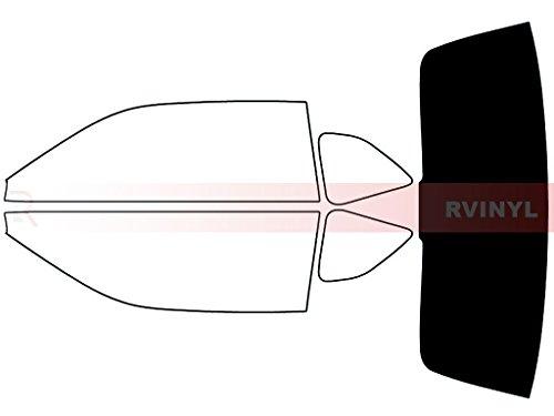 Rtint Window Tint Kit for Dodge Challenger 2008-2020 - Rear Windshield Kit - 5%