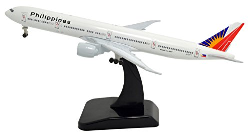 TANG DYNASTY(TM) 1:400 Standard Edition Boeing B777 Philippine Airlines Metal Airplane Model Plane Toy Plane Model (Philippine Airlines)
