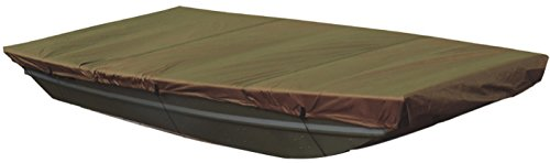 Leader Accessories New Olive Waterproof Jon Boat Cover (Up to 10' L X 48'' W) (Bass 8x10')