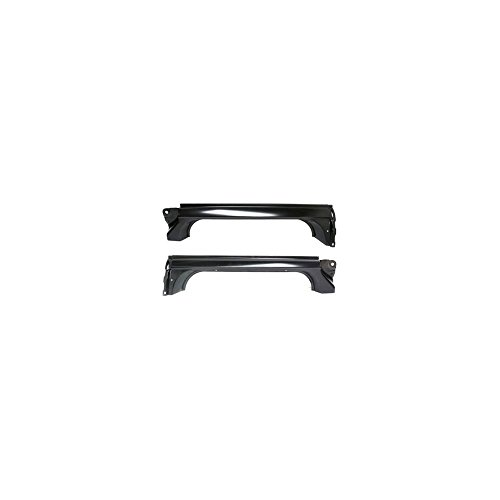 Rocker Panel compatible with Chevrolet Full Size Pickup 73-87 Right and Left W/Door Post Set of 2 Steel Primed ()
