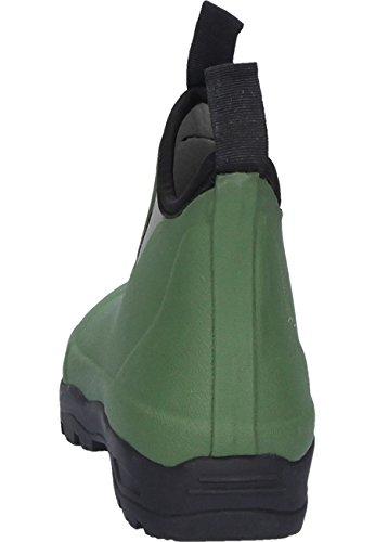 AJS Victoria vert, Gummistiefelette Oliv / Grün