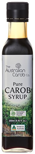 Organic Carob, Australian, Carob Syrup, Superfood, 8.45fl.oz. NON-GMO, World's #1 Best Tasting, Pure Carob Syrup (no added flavors,sugars) Vegan, New Generation Carob, Organic Carob Syrup, Carob (Best Blender For Ice Australia)